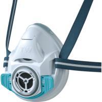 【特長】●用途に応じてフィルターを交換することにより、1つの面体で防毒マスクにも防じんマスクにもなり...