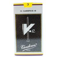 Vandoren(ヴァンドレン、ヴァンドーレン) B♭クラリネット用リード V.12(銀箱) 3  ...