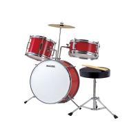 お子さま用のキッズ(ジュニア)ドラムセットです。 お子様に限らず、大人の方でも練習用としてご使用いた...