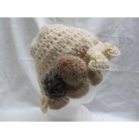 手編みウールエスニック帽子エスニック衣料雑貨
