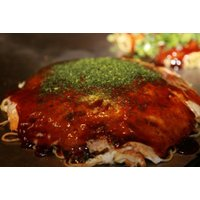 もち肉玉そば(お好み焼き 450g 濃厚ソース 40g x 2 青のり 0.15g )