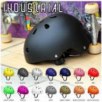 VANSステッカープレゼント ヘルメット 子供 キッズ 大人 スケートボード インダストリアル INDUSTRIAL ストライダー 取寄せ