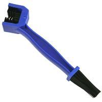【ネコポス】色で使い分け  バイクメンテ用 3面清掃ドライブチェーンブラシ x2本セット  YZN001