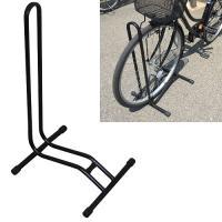 ガレージ・ゼロ 自転車スタンド 停め置きL字型 ブラック