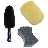 【洗車スポンジ】 スポンジ面はやわらかく、塗装面を傷つけません。また、ゴム面はこびりつた汚れを落とす...