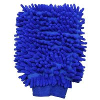 吸水性が良く、車やバイクの洗車に便利。手袋タイプなので、使いやすい。