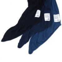 【H.UNIT STORE LABEL】Indigo knit stole