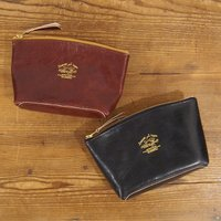 【THE SUPERIOR LABOR】leather pouch L (Italian Buffalo Leather)
