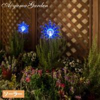 スティックタイプのソーラーライト。 花壇やプランターに挿しこむだけの簡単設置。 風に吹かれるとゆらゆ...