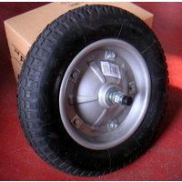 パンクしない発泡ウレタンフォーム一体成型。  タイヤ外径:360mm タイヤ幅:65mm 軸径:16...