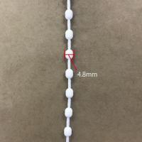 シェード ループチェーン 150cm(1周約300cm) 4.8mm TOSO ワンチェーン用 クリエティ ホワイト ボールチェーン