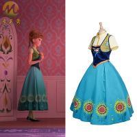 アナと雪の女王 エルサのサプライズ エルサ ドレス コスプレ衣装 ■セット内容■ 半袖+ドレス+上着...