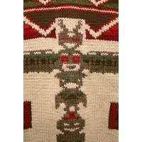 RRL(ダブルアールエル) 手編み カウチンセーター トーテムポール
