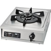業務用 温調機能付き 1口ガスコンロ RSB-10T温調機能付きで安全な厨房環境に!《配送タイプA》...