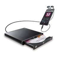 商品名:ロジテック CDドライブ スマホ タブレット向け 音楽CD取り込み USB2.0 Type-...
