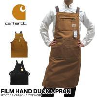 Carhartt カーハート FILM HAND DUCK APRON フィルムハンド ダックエプロ...