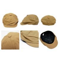 ソリッドキャスケット キャップ 帽子 20069 (メール便不可)
