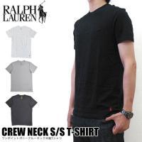 ポロラルフローレン Tシャツ POLO RALPH LAUREN メンズ 白 黒  RL65 ワンポ...