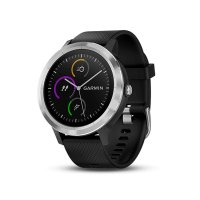 GARMIN ガーミン スマートウォッチ 時計 GPS アクティブトラッカー 活動量計 vivoactive3 ブラック ステンレス