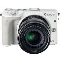 【展示品】Canon キヤノン EOS M3 EF-M18-55 IS STM レンズキット [ホワ...