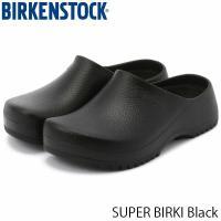 ビルケンシュトック サンダル メンズ スーパー ビルキー SUPERBIRKI PU クロッグサンダル ガーデニング 幅広 ブラック 黒 BIRKENSTOCK GP068011 国内正規品 geak