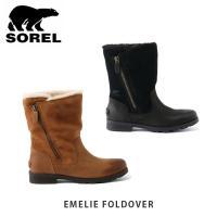 ソレル SOREL レディース スノーブーツ エミリーフォルドオーバー EMELIE FOLDOVER ブーツ ウォータープルーフ SORNL3025|geak