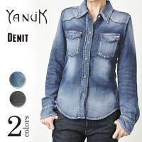 こちらは、Denimニット=× DENIT YANUKが独自に開発した、 完全オリジナルのニット風デ...