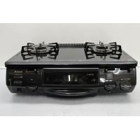 商品名:リンナイ ガステーブル 都市ガス RTE660CTS-R パールクリスタル天板 水有片面焼 ...