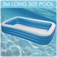 今年の夏は、家庭用 大型 ビニール プールはいかがですか。 家庭用プールとはいえ作りはしっかりしてま...