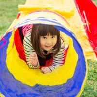 子供 ハウス/テント 連結トンネル キッズテント 各分離可能 室内/屋外  子供ハウス/テントハウス...