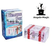 トレジャーボックス Treasure Box   透明は箱は完全に閉められております。 開けるには壊...