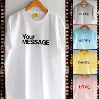 名入れが出来る!オーダーメイドのTシャツです。  探さなくても作ればいい!贈りたくなる!  作って楽...