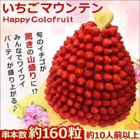いちごマウンテン  ■内容量  【串本数】 約160粒(約10人前以上)  《果物一例》 ・パイナッ...