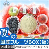 冬の国産フルーツBOX(福)  ■内容量 《果物一例》 ・静岡マスクメロン (クラウンメロンorアロ...