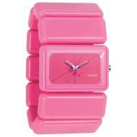 色:文字盤=ピンク-B4BC ケース=ピンク-B4BC  サイズ:ケース 約43x30mm 素材:ミ...
