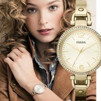 ★細身のメタルベルトがブレスレットのような時計です★  文字盤カラー:ゴールド ベルトカラー:ゴール...