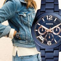 ★凹凸のあるダイヤルやルミナスインデックスの様な男性的な時計の細部にアイディアを得て、現代女性用に作...