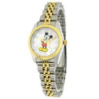 誰からも愛されるミッキーマウスの腕時計☆少しクラシックな雰囲気がオシャレです♪人気のロレックスミッキ...