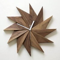 壁掛け時計 掛け時計 掛時計 壁掛時計 おしゃれ 木製 ウッドウォールクロック ウィンドウ