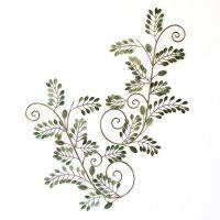 左右対称のグリーンリーフのパネル 人気の観葉植物、シマトリネコのような 雰囲気が可愛いパネル 凝った...