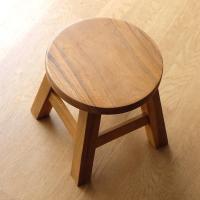スツール 木製 子供 椅子 おしゃれ ミニスツール 小さい ウッドスツール 丸椅子 子供用 イス かわいい 無垢材 花台 ミニテーブル 子供イス プレーン
