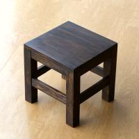 スツール 木製 椅子 いす イス ミニスツール 玄関 花台 ミニテーブル ウッドチェア おしゃれ スクエアスツール