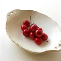 艶感の無い粉引きの浅鉢 温かみのある粉引きは 食卓を優しい雰囲気にしつらえます  もち手が付いたオー...