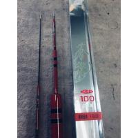 国産の低レジン高弾性鮎コロガシ竿です。 10.0mで10本継で、硬調で仕舞寸法は130cmです。 4...
