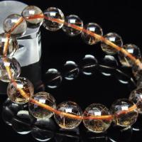 ルチルクォーツ(金針ルチル水晶) ブレスレット 12mm  t50-5408