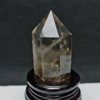 ライトニング水晶 六角柱 t581-5052