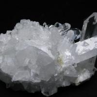 アーカンソー州産 水晶クラスター t619-3875
