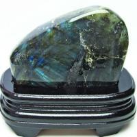 ラブラドライト 原石 t623-7136