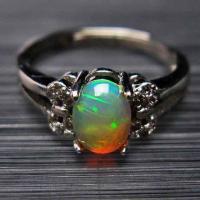 プレシャスオパール 指輪 t674-1947