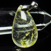 ルチルクォーツ(金針ルチル水晶) ペンダント  t86-4168
